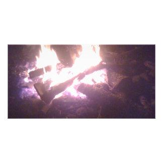 Cartão Desgaste do fogo