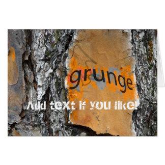 Cartão Design do divertimento do Grunge do latido