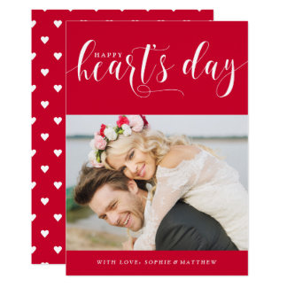Cartão Dia dos namorados da foto do dia   do coração