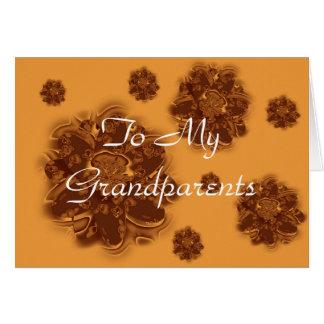 Cartão Dia feliz das avós