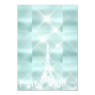 Cartão Diamante Sparkly de Tiffany das estrelas de Paris