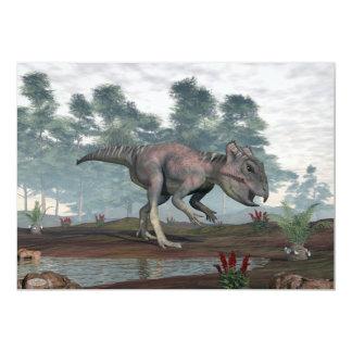 Cartão Dinossauro de Archaeoceratops