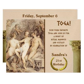 Cartão Dionysus e Venus