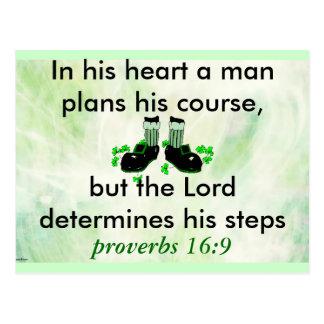 cartão do 16:9 dos provérbio