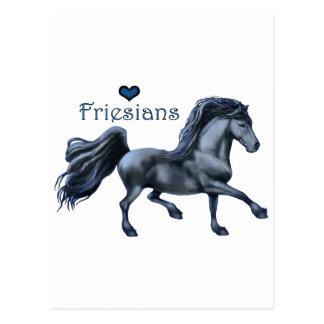 Cartão do amor dos frisões