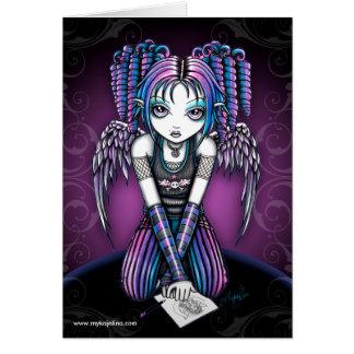 Cartão do anjo de Ariel Emo