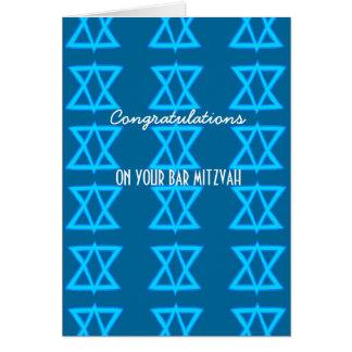 Cartão do BAR MITZVAH