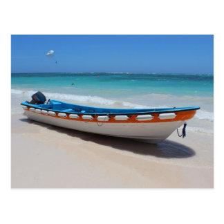 Cartão do barco de Punta Cana Cartão Postal