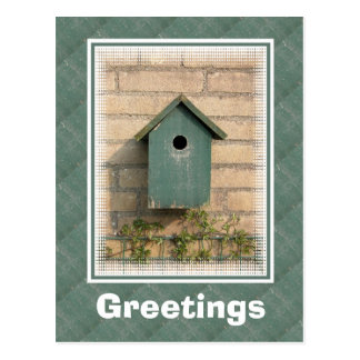 Cartão do Birdhouse