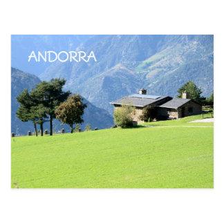 Cartão do calendário de Andorra 2015 Cartão Postal