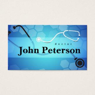 Cartão do cardiologista do médico de família do