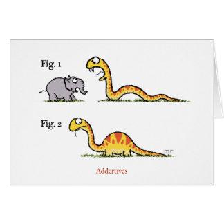 Cartão do cobra de Addertives