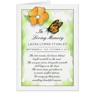 Cartão do convite da cerimonia comemorativa da