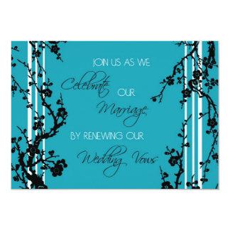 Cartão do convite da cerimónia da renovação do