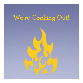 Cartão do convite do Cozinheiro-para fora do