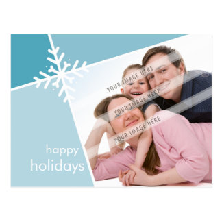 CARTÃO DO CUMPRIMENTO DA FOTO:: floco de neve L3 d Cartão Postal
