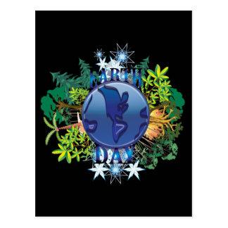 Cartão do Dia da Terra dos cartão | do Dia da Terr Cartão Postal