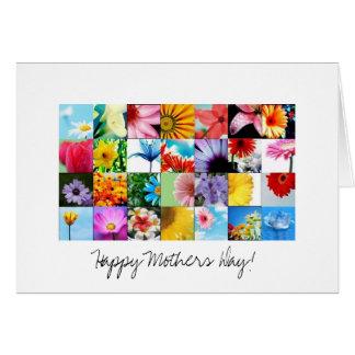 Cartão do dia das mães com poema
