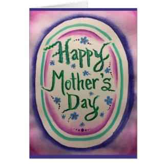 Cartão do dia das mães: Revolta adolescente