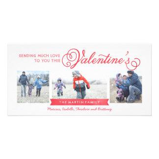 cartão do dia dos namorados 3-Photo Cartão Com Foto