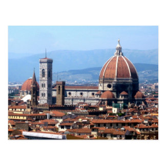 Cartão do domo de Florença Cartão Postal