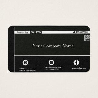Cartão do escritório