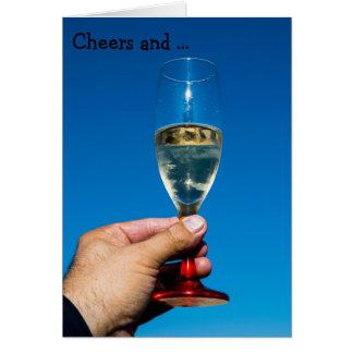 Cartão do feliz aniversario: Elogios e feliz