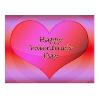 Cartão do feliz dia dos namorados cartão postal