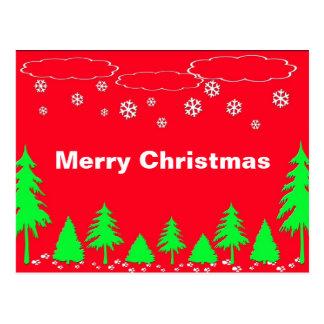 Cartão do Feliz Natal Cartao Postal