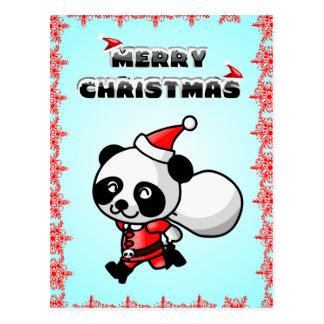Cartão do Feliz Natal dos desenhos animados do urs Cartão Postal