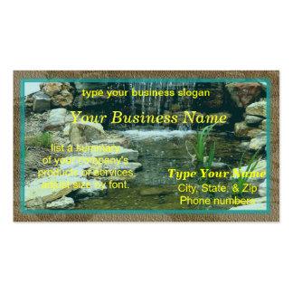 Cartão do Fishpond Cartão De Visita
