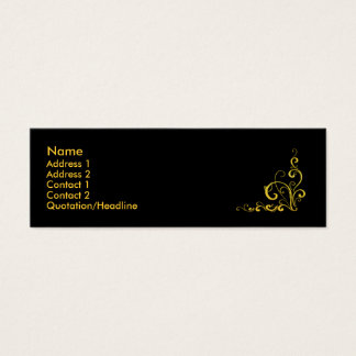 cartão do fluxo mini