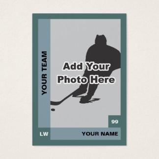 Cartão do hóquei