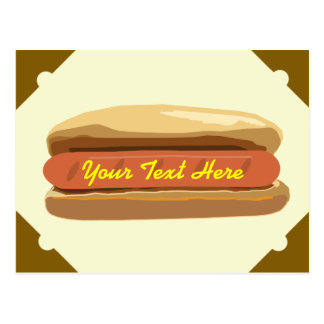 Cartão do Hotdog
