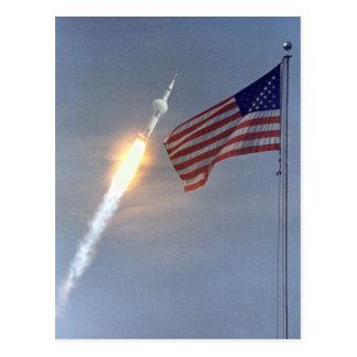 Cartão do lançamento de Apollo 11 Cartão Postal