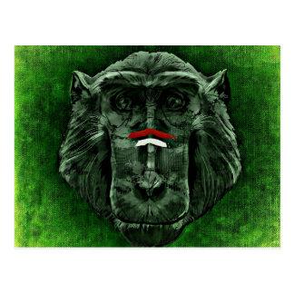 Cartão do macaco