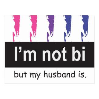 Cartão do marido do Bi