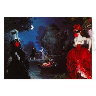 Cartão do mascarada