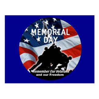 Cartão do Memorial Day Cartão Postal