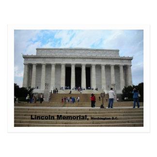 Cartão do memorial de Lincoln Cartão Postal
