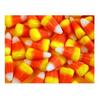 Cartão do milho de doces do Dia das Bruxas
