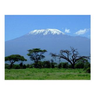 Cartão do Monte Kilimanjaro