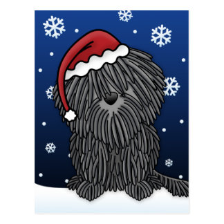 Cartão do Natal de Kawaii Puli