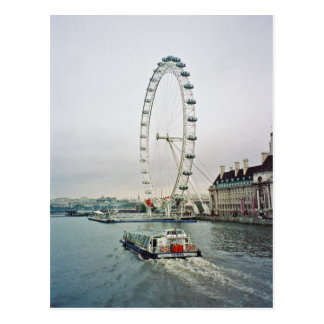 Cartão do olho de Londres Cartão Postal