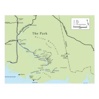 Cartão do parque de Kate Shugak