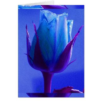 Cartão do prazer do rosa do azul mim -