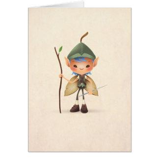 Cartão do Sprite do jardim