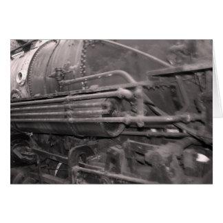 Cartão do trem de fantasma