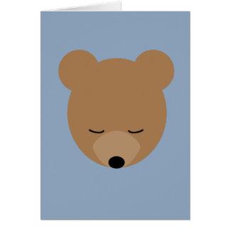 Cartão do urso