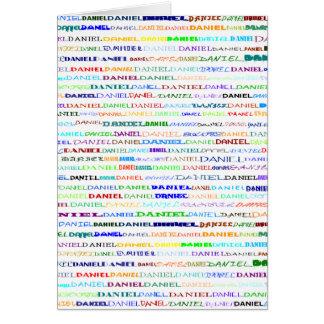 Cartão do vertical do design de texto II de Daniel